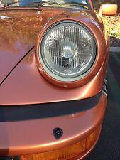 """2x Porsche 911 """"E"""" Scheinwerfer H4 NEU Euro Umrüstung US G Modell Carrera Targa"""