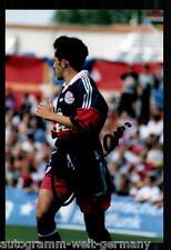 H. Salihamidzic Super AK Foto Bayern München 98-99 (7) Orig. Signiert