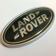 LAND ROVER BADGE EMBLEM,ORIGINAL GREEN/SILVER OVAL BOOT BADGE,DISCOVERY,VOGUE
