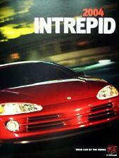 2004 Dodge Intrepid sedan new vehicle brochure (teaser)