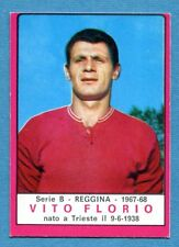 New CALCIATORI PANINI 1967-68-Figurina-Sticker - FLORIO - REGGINA - Nuova