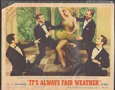 1955 Movie vestíbulo Tarjeta #1-0429 - SU Always Fair Weather - Dolores Gris