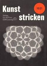 Kunststricken # 1621 Strickdeckchen - Kunststricken Heftchen