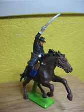 BRITAINS DEETAIL 1970-80  CAVALIER OFFICIER  NORDISTE A LA CHARGE  SECESSION