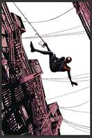 (2018) Miles Morales Spider-Man #1 1:50 Lee Garbett Variant Cover