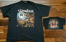 Ozzy Osbourne Ozzfest 2001 Concert T-Shirt Black Sabbath Marilyn Manson Slipknot