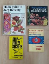 Vintage Recipe Cookbook: Deep Freezing, Home Freezing, Deep Freeze Meal Planning