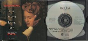 Madonna  CD-SINGLE  YOU MUST LOVE ME  ©  1996  USA