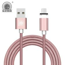 2.4A Current Braided Magnetic USB Charging Charger Cable For iPhone 5s 6s 7 Plus