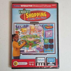Main St. Shopping Lakeshore Interactive Whiteboard Software Grade 4-6 HH822 Math