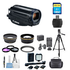 Canon VIXIA HF R600 Full HD Camcorder (Black) !! PRO BUNDLE BRAND NEW!!