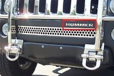 Hummer H3 Front Bumper Chrome Letters Insert