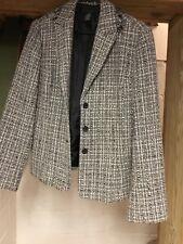 womens sport coat brand apostrophe size 14 color gray,blk., white