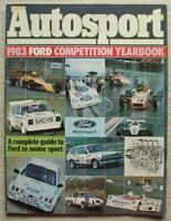 AUTOSPORT FORD COMPETITION YEARBOOK 1983 A Complete Guide to FORD in MOTORSPORT