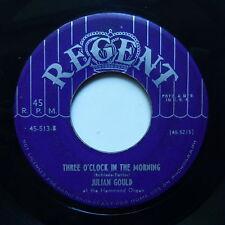 JULIAN GOULD Three o'clock in the morning Avalon Hammond organ REGENT 45 513
