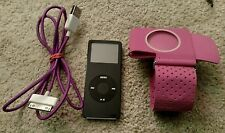 APPLE IPOD NANO 1 GB 1GB 1ST GENERATION BLACK A1137 BUNDLE LOT!! SUPER CLEAN!!