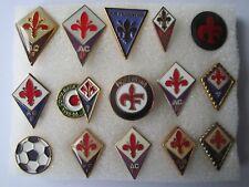 j4 lotto 15 pins lot AC FIORENTINA FC club spilla football calcio pins spille