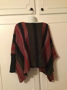 Hot & Delicious NWT Boutique  Women's  Striped Dolman Sleeve Sweater S/ M