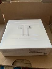 Apple Airpods 2nd Generation Earbuds with Charging Case NEW Unopened Box