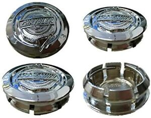 4 Chrysler 300 PT Cruiser Sebring Pacifica Aspen Wheel Center Hub Cap 04782867AA