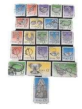IRELAND, SCOTT # 767-794(23), COMPLETE SET 1990-95 DEFINITIVE ISSUE USED
