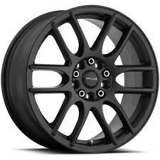 17 Inch Raceline 141B Mystique 17x7.5 4x100/4x108 +40 Satin Black Wheel Rim