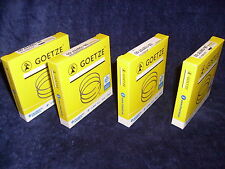 4x Goetze Piston Rings Coated Audi Seat VW 2,0L 3 1/4in 16V 9A Abf