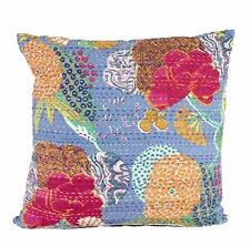 One Duck Two Collage blue cushion cover 45 x 45