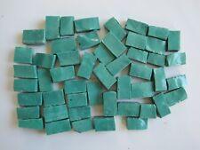 100 Grams Glass Tesserae Mosaic Tiles - minimum 50 pieces - MING GREEN *