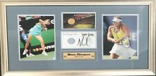 Maria Sharapova Signed and Framed 2005 Australian Open Ticket with Photographs