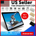 """10.1"""" WiFi Tablet Android 10 HD 8G+512G 10 Core PC Google GPS+ Dual Camera 2020"""