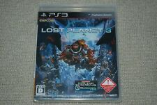 New! Playstation3 PS3 LOST PLANET 3 Japan Import factory sealed CAPCOM