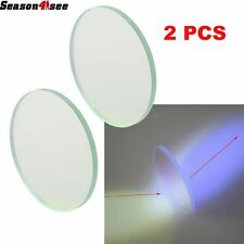 2PC Bule 42mm Tempered Glass Len Filter for SureFire Flashlight C8 Series torch