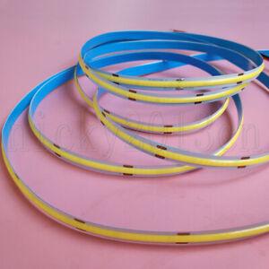 High Density Ra90 5M COB FOB LED Flexible Strip Light Ribbon Tape Linear 12V 24V