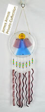 James Arness Gunsmoke Marshal Dillon Hand Crafted Glass Angel Wind Chime