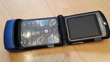 Klapphandy Motorola RAZR V3i blau + simlockfrei + mit Folie + topp