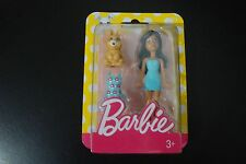 Barbie mini doll with bunny rabbit toy and dress DTW45 DTW46