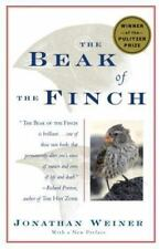 The Beak of the Finch: A Story of Evolution in Our Time Weiner, Jonathan Paperb