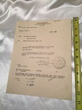 1935 War Department Signed Military Commission Document Promotion Major