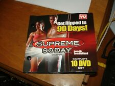 Brand New - Supreme 90 Day Fitness System Replacement DVDs, 2010