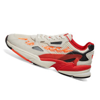 ADIDAS WOMENS Shoes Fiorucci Falcon - Off White, Red, Orange & Black - G28914