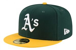 New Era - MLB Oakland Athletics Authentic Collection EMEA 59Fifty Fitted Cap - G