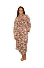 Pijama Mania Para Mujer Cheetah Fleece Bata Medio
