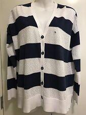 NAUTICA  Cardigan Cotton Knit Long Sleeve Cotton Size s