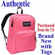 Jansport SUPERBREAK CLASSIC Backpack FLUORESCENT PINK - Travel School Bag