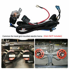 12V Horn Relay Wiring Harness Kit For Grille Mount Electric Blast Horn Universal
