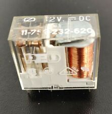 Relay PED 11 752 232 620 DPDT 12Vdc coil 3A contacts PCB mount