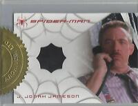 "Spider-man 3 - TIE VARIANT ""J.Jonah Jameson"" Case Topper Costume Card"