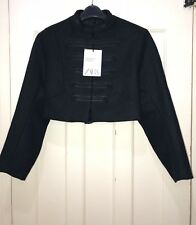 Zara AW 17 Studio Short Jacket With Toggles Size UK M Ref.8337/810