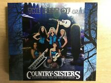 CD  COUNTRY SISTERS - 2 CD best of from EUROPE   (stickers + 3 DVD as a gift)